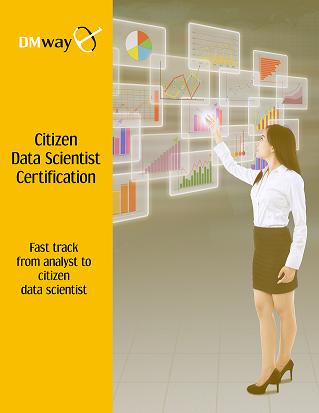 NEW! DMway Citizen Data Scientist Certification   Dmway